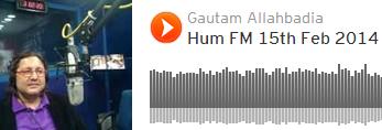 Dr. Gautam Allahbadia on Hum Radio Show